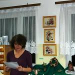 Wiersze czyta Maria Leończuk, fot. 2