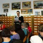 Wiersze czyta p. Bożena Diemjaniuk
