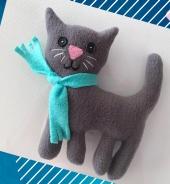 """Więcej o: """"W Krainie Kotów"""" – zajęcia z szycia"""