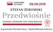"""Więcej o: Narodowe Czytanie  Stefan Żeromski """"Przedwiośnie"""""""