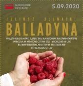 """Więcej o: on-line """"Balladyna"""" Narodowe Czytanie 2020"""